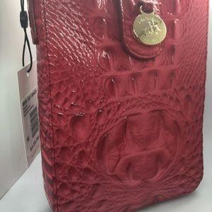 Brahmin Red Cross-Body purse